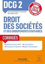 Download this eBook DCG 2 Droit des sociétés et des groupements d'affaires - Corrigés