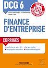 Télécharger le livre :  DCG 6 Finance d'entreprise - Corrigés