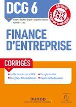 Download this eBook DCG 6 Finance d'entreprise - Corrigés