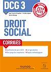 Télécharger le livre :  DCG 3 Droit social - Corrigés