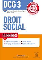 Download this eBook DCG 3 Droit social - Corrigés