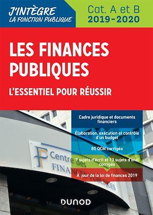 Téléchargez le livre :  Les finances publiques 2019-2020