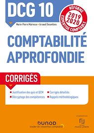 Téléchargez le livre :  DCG 10 Comptabilité approfondie - Corrigés