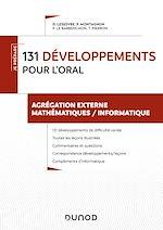 Téléchargez le livre :  200 développements pour les oraux - Agrégation externe mathématiques