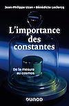Télécharger le livre :  L'importance des constantes