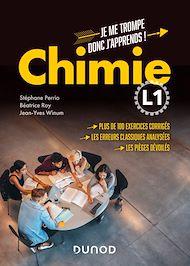 Téléchargez le livre :  Chimie L1 - Je me trompe donc j'apprends !