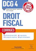 Download this eBook DCG 4 Droit fiscal - Corrigés - Réforme 2019-2020