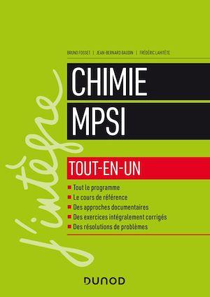 Téléchargez le livre :  Chimie tout-en-un MPSI