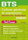 Télécharger le livre :  BTS Culture générale et Expression 2019/2020