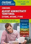 Télécharger le livre :  Concours Adjoint administratif territorial 2019/2020