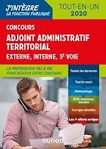 Téléchargez le livre :  Concours Adjoint administratif territorial 2019/2020