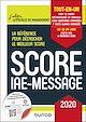 Télécharger le livre : Score IAE-Message - 2020