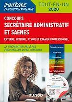 Téléchargez le livre :  Concours Secrétaire administratif et SAENES