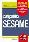 Télécharger le livre :  Concours Sésame - 2020-2021