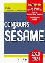Téléchargez le livre :  Concours Sésame 2020-2021 -  5e ed.