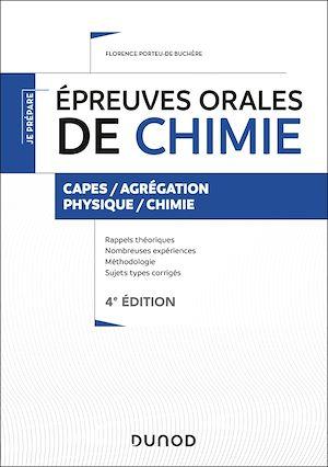 Téléchargez le livre :  Épreuves orales de chimie - 4e éd.