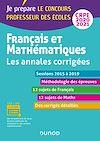 Télécharger le livre :  Français et mathématiques - Toutes les annales corrigées - CRPE 2020 - Sessions 2016 à 2019