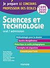 Télécharger le livre : Sciences et technologie - Oral, admission - CRPE 2020-2021