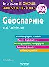 Télécharger le livre :  Géographie - Professeur des écoles - oral / admission - CRPE 2020-2021