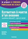 Télécharger le livre :  Entretien à partir d'un dossier - Système éducatif - EPS et Santé - CRPE 2020-2021