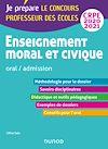 Télécharger le livre : Enseignement moral et civique - Oral, admission - CRPE 2020-2021