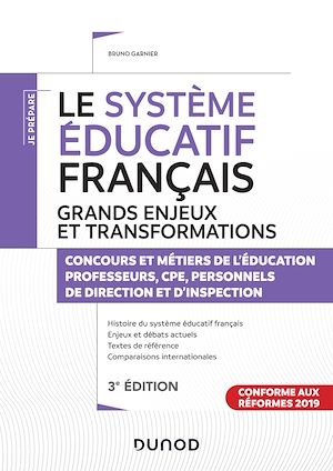 Téléchargez le livre :  Le système éducatif français - Grands enjeux et transformations