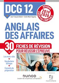 Téléchargez le livre :  DCG 12 - Anglais des affaires - Fiches de révision