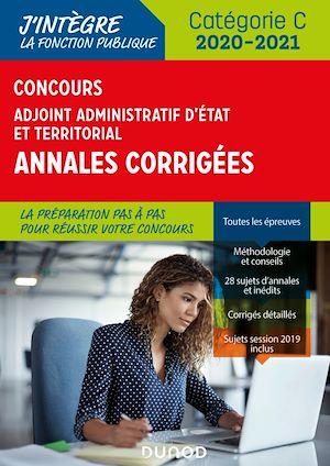 Téléchargez le livre :  Concours Adjoint administratif Etat & Territorial