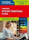 Télécharger le livre :  Concours Attaché territorial externe
