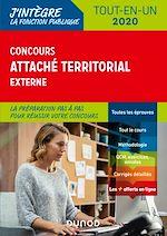 Téléchargez le livre :  Concours Attaché territorial externe