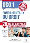 DCG 1 Fondamentaux du droit - Fiches de révision   Bocquillon, Jean-François