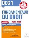 Télécharger le livre :  DCG 1 Fondamentaux du droit - Manuel - 2020/2021