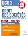 Télécharger le livre :  DCG 2 Droit des sociétés et des groupements d'affaires - Manuel - 2020/2021