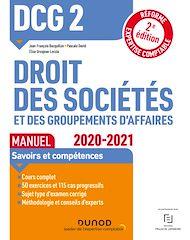 Téléchargez le livre :  DCG 2 Droit des sociétés et des groupements d'affaires - Manuel - 2020/2021