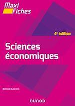 Téléchargez le livre :  Maxi fiches - Sciences économiques - 4e éd.