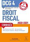 Télécharger le livre :  DCG 4 Droit fiscal - Corrigés - 2020/2021