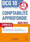 Télécharger le livre :  DCG 10 Comptabilité approfondie - Corrigés - 2020-2021