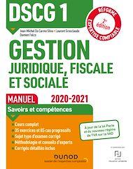 Téléchargez le livre :  DSCG1 Gestion juridique, fiscale et sociale - Manuel - 2020-2021