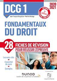 Téléchargez le livre :  DCG 1 Fondamentaux du droit - Fiches de révision - 2020-2021