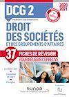 Télécharger le livre :  DCG 2 Droit des sociétés et des groupements d'affaires - Fiches de révision