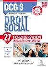 Télécharger le livre :  DCG 3 Droit social - 2e éd. - Fiches de révision