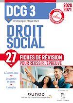 Téléchargez le livre :  DCG 3 Droit social - 2e éd. - Fiches de révision