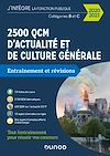 Télécharger le livre :  2500 QCM d'actualité et de culture générale - 2020/2021