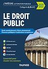Télécharger le livre :  Le Droit public 2020-2021 - Catégories A, B et C