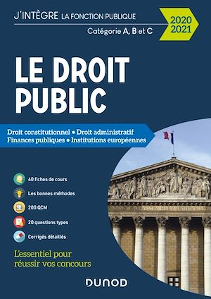 Téléchargez le livre :  Le Droit public 2020-2021 - Catégories A, B et C