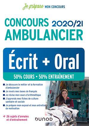 Téléchargez le livre :  Concours Ambulancier 2020/21