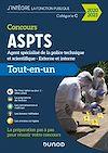 Télécharger le livre :  Concours agent spécialisé de la police technique et scientifique ASPTS- 2020-2021