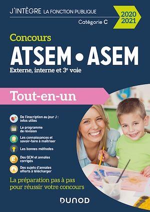 Téléchargez le livre :  Concours ATSEM/ASEM - Externe, interne, 3e voie - Tout-en-un - 2020-2021