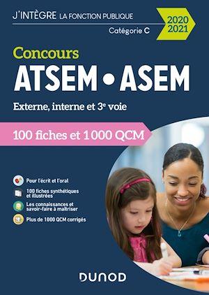 Téléchargez le livre :  Concours ATSEM-ASEM 2020/2021 - 100 Fiches et 1 000 QCM