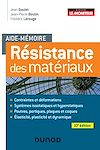 Télécharger le livre :  Aide-mémoire - Résistance des matériaux - 10e éd.